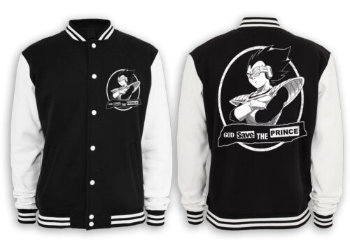 Gym Vegeta God Prince Z roshis Collegejacke figlio Save The Dragonball Goku Capsule SIvxq6OI
