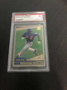 2000-Topps-Traded-T3-Brandon-Phillips-RC-PSA-9