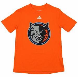 df0287a60 A imagem está carregando Juventude-Adidas-Nba -Charlotte-Bobcats-manga-curta-LOGOTIPO-