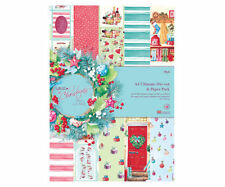 Papermania 'At Christmas by Lucy Cromwell' A4 Ultimate Die-Cut & Paper Pack
