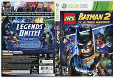 "LEGO Batman 2:DC Super Heroes Hand-Signed STEVE BLUM +2 ""Batman"" (Xbox 360,2012)"