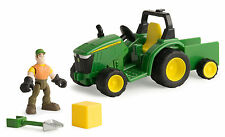 John Deere Gear Force Heavy Hauling Tractor Playset 46440