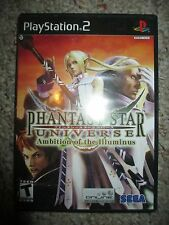 Phantasy Star Universe: Ambition of the Illuminus Sony PlayStation 2 Complete