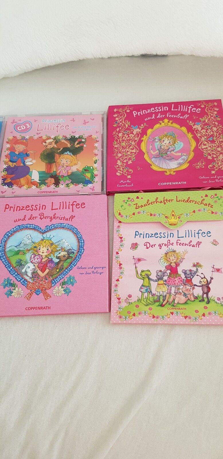 Traumhafte Lillifee NP Sammlung- Spiegelburg- inkl.Spieluhr  NP Lillifee 3f9592