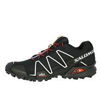SALOMON SPEEDCROSS 3 homme SENTIER Chaussures de course extérieur noir 127609