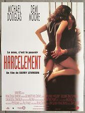 Affiche HARCELEMENT Disclosure DEMI MOORE Michael Douglas 40x60cm B
