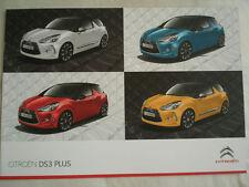 Citroen DS3 Plus range brochure May 2011