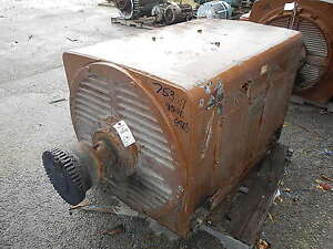 Image Is Loading 700 Hp Westinghouse Electric Motor 900 Rpm 6808l
