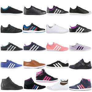Details zu adidas Damen Sneaker Schuhe Freizeit Turnschuhe Retro Leder  Textil Sportschuhe