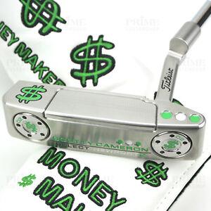 Details about CUSTOM 2018 Scotty Cameron NEWPORT 2 Putter MONEY MAKER Cash  Edition Putter