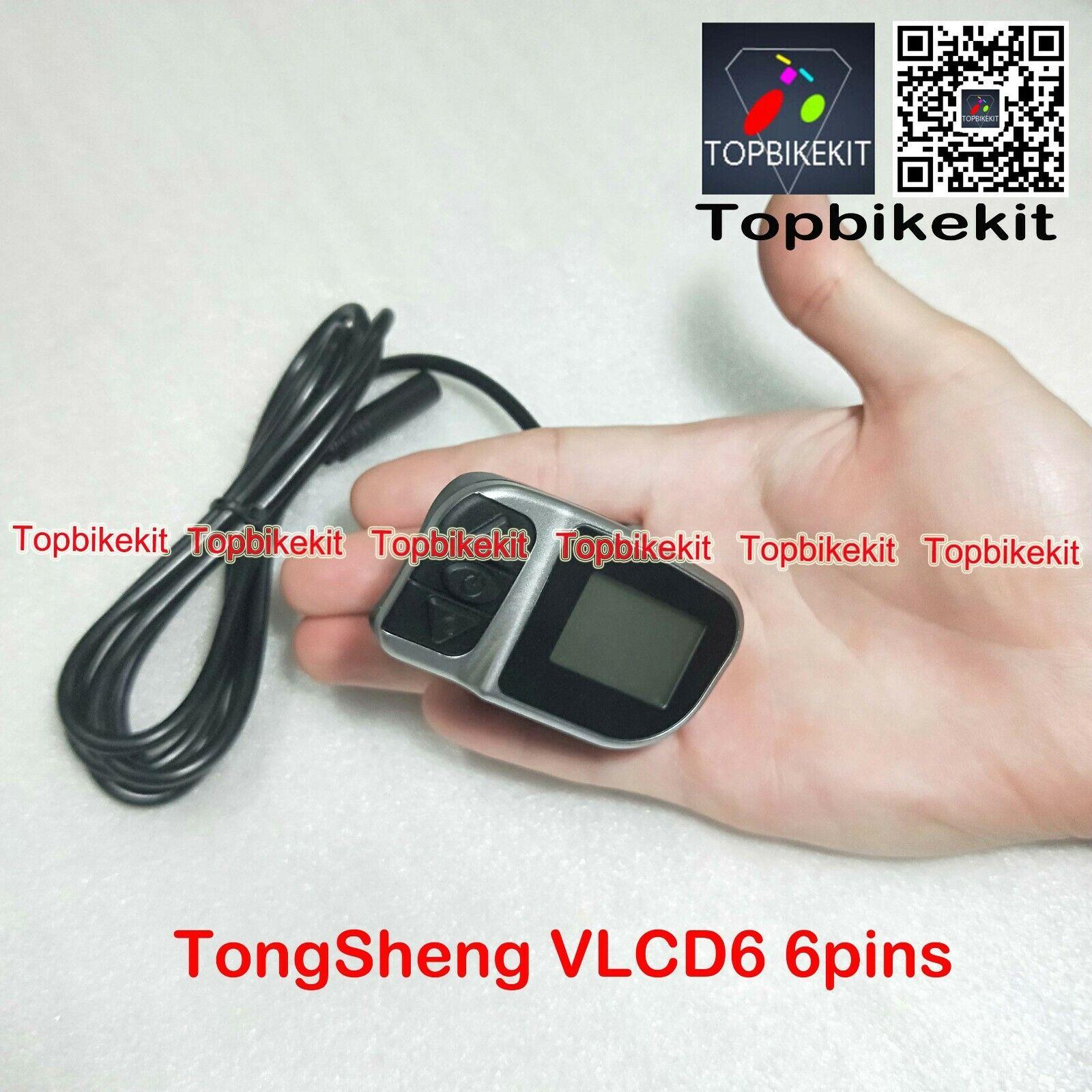 TSDZ2 display VLCD6 Display 6 pin connector For TSDZ2 Mid Drive Motor Tongsheng