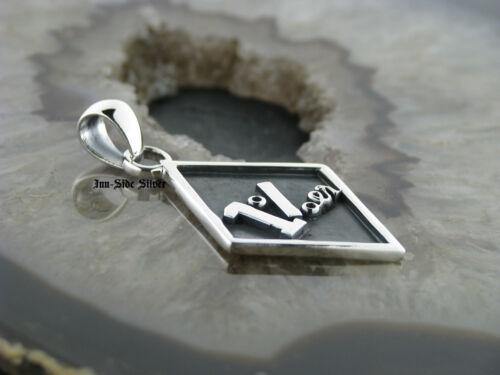 Remolque de cadena 1/% él plata 925 pendant
