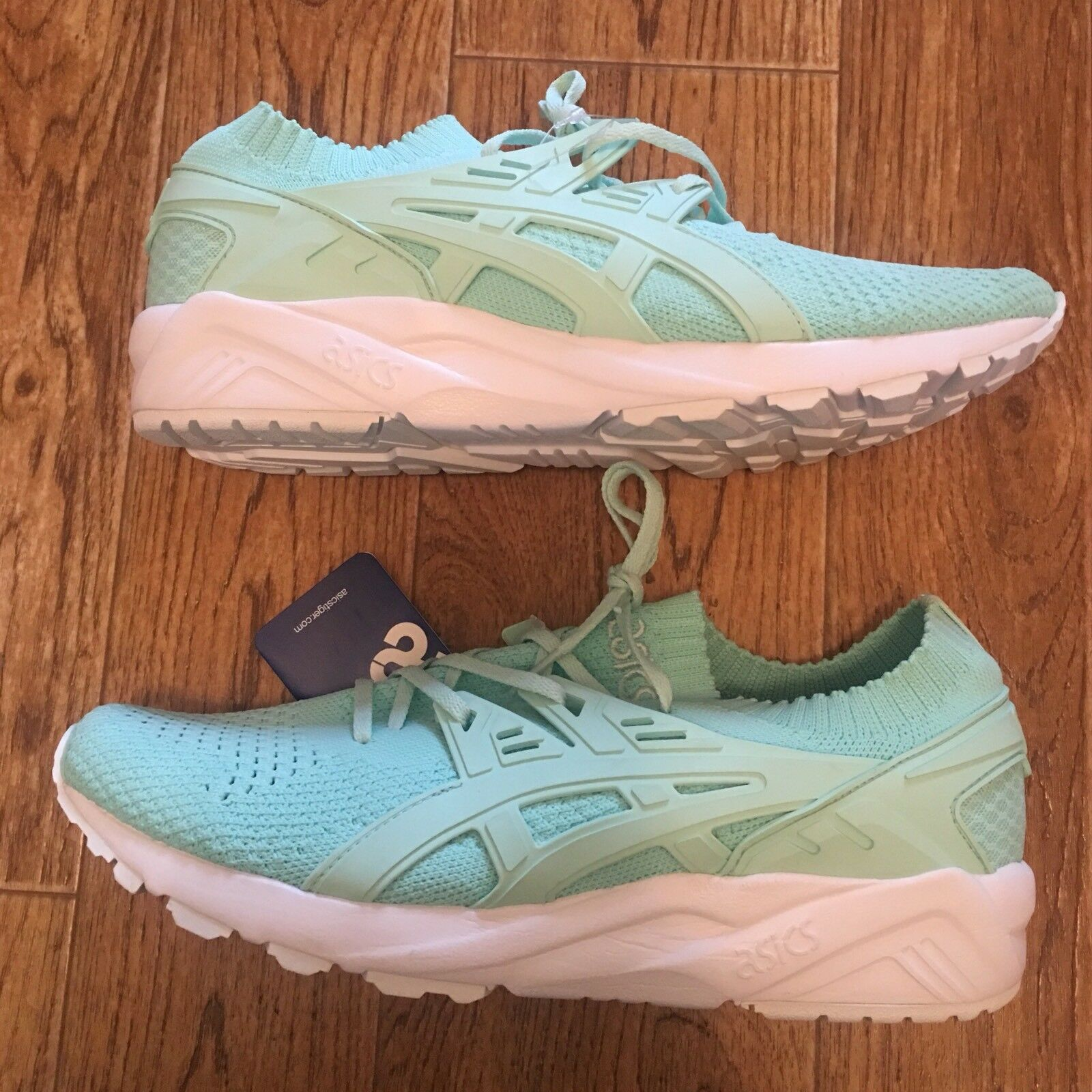 Asics Gel-Kayano Trainer Knit Mint Green Mens shoes US Size 9 NEW