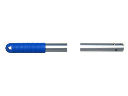 Manche aluminium 140 cm 23.50 mm pour tous support de lavage / balayage