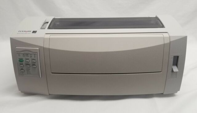 Lexmark Forms Printer 2580 Workgroup