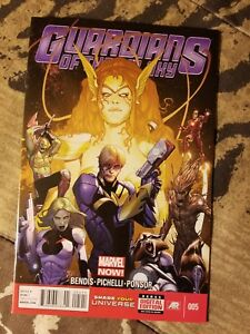 Guardians-Of-The-Galaxy-5-NM-1st-Marvel-App-of-Angela