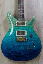 PRS Paul Reed Smith MSL Wood Library Custom 24 10-Top Guitar, Blue Fade