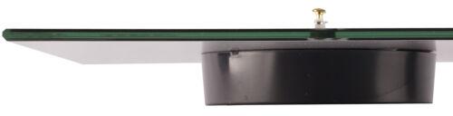 levandeo Wanduhr Glas 30x30cm Glasuhr Uhr Glasbild Chili Küchenuhr Deko Küche