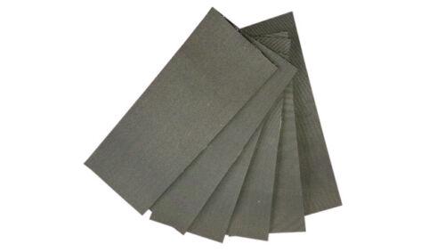 Anti Rutsch Pad selbstklebend Gummi ca.25x10 cm 10er Set Waschmaschine Trockner