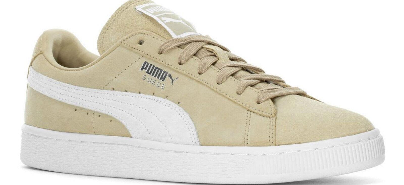 NWOB  Men's  Puma Classic Suede safari white  shoes Lifestyle   363242 39 shoes
