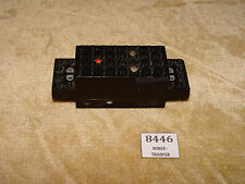 LEGO Parts: x469b Electric, Motor 4.5V Type II 12 x 4 x 3 1/3 BLACK Train Motor