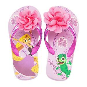 5dd39753d Baby or Toddler Disney Store Rapunzel Pascal Flip Flops Size 5 6 7 8 ...
