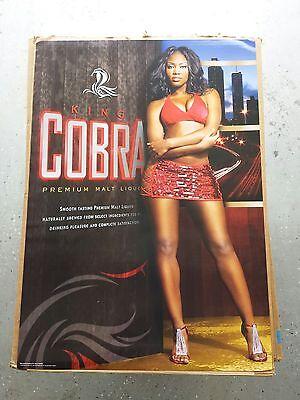 24X32 Inch Budweiser Girls Hot Model Beer Advertising Hot Model Poster Art Decor