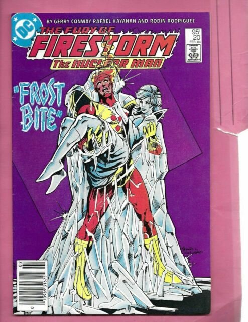 Fury of Firestorm #20 1984 CANADIAN PRICE VARIANT Newsstand Rare
