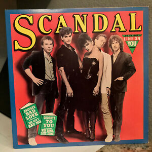"SCANDAL - Self Titled (Goodbye To You) - 12"" Vinyl Record LP - VG+"