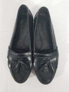 ed4f94cc221 Image is loading COLE-HAAN-Men-s-Kilted-Tassel-Loafers-Black-