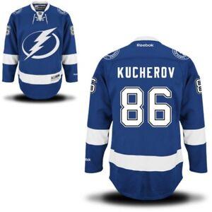 86 Nikita Kucherov Tampa Bay LIGHTNING RBK NHL Premier Jersey 100 ... 9e3f59b37