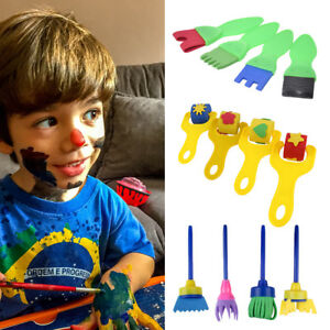 12Pcs-Kids-Paint-Brushes-Sponge-Painting-Brush-Tool-Set-for-Children-Toddler-Toy