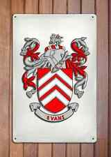 Bernard Coat of Arms A4 10x8 Metal Sign Aluminium Heraldry Heraldic