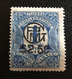 MEXICO 1916 Sc 603 M/Mint & FREE GIFT