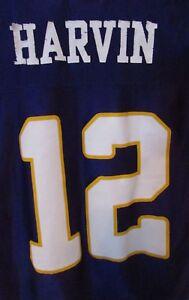 NFL Minnesota Vikings PERCY HARVIN  12 Replica Jersey Size Kids XS ... f07c3b2df