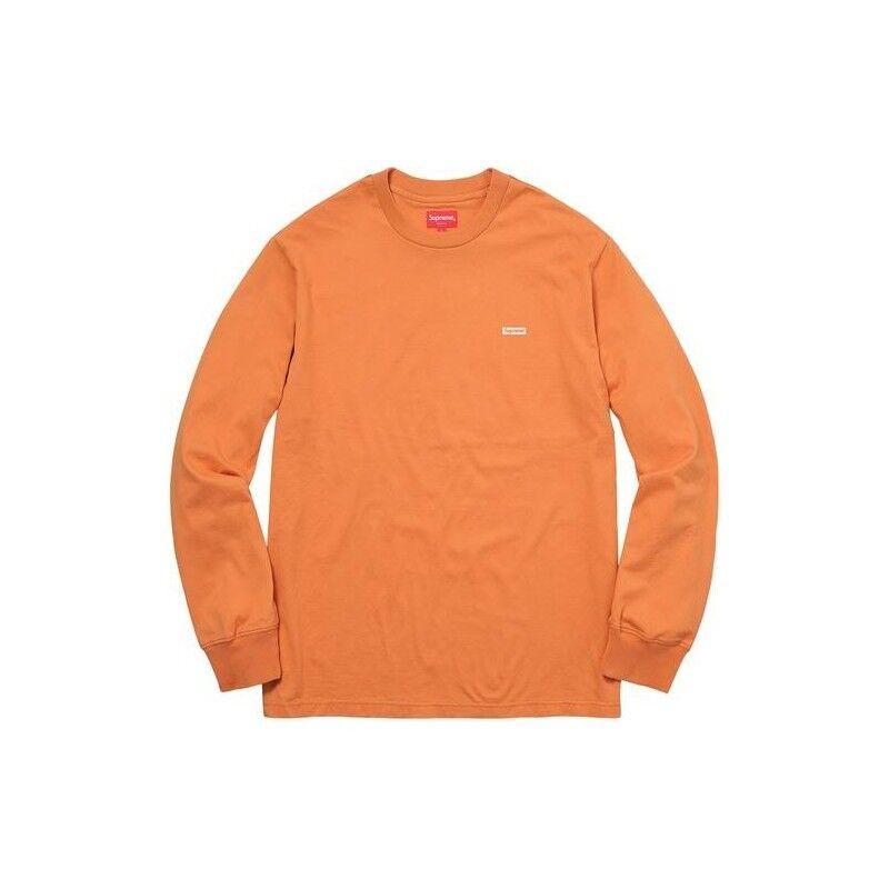 Supreme Metallic Box Logo Tee, Light Orange, groß