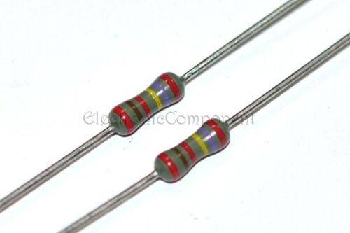 10 Piezas-Philips mrs25 62r 0,6 W 1/% 350v resistencias de película metálica non-rohs