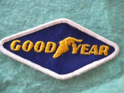 "Vintage Good Year Tires Drag Racing Patch 4 3/8"" X 2 1/8"""