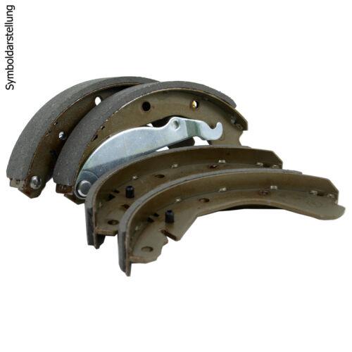 Montagesatz für Mazda Demio Radzylinder 2 Bremstrommeln Ø200mm Bremsbacken