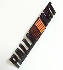 New Metal Black RALLIART Emblem Sticker Decal Badge