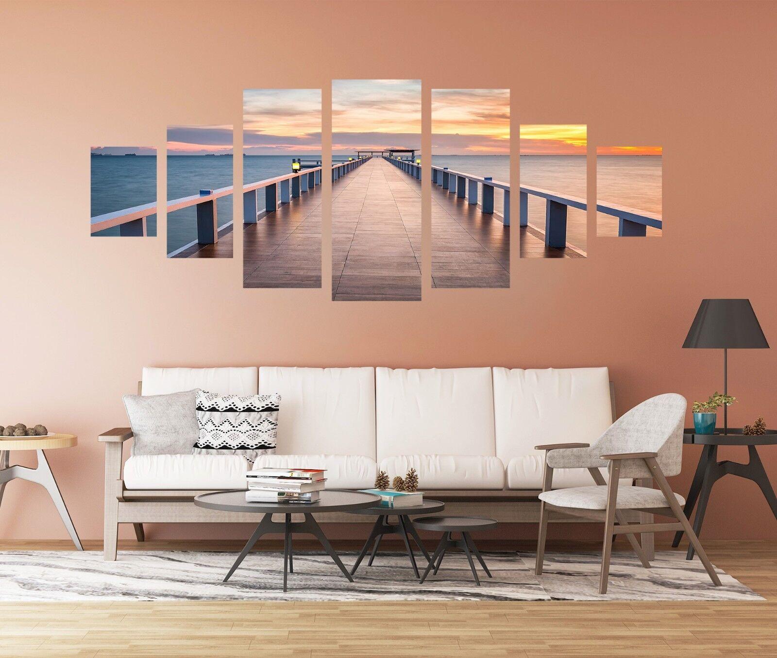 3D Board Bridge 72 Unframed Print Wall Paper Decal Wall Deco Indoor AJ Jenny
