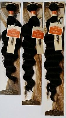 True Glory Hair - Brazilian Virgin Human Hair AAAA NWT Loose wave; 3 Bundle Deal
