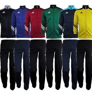 Details about Adidas Sereno 14 kid's boy's tracksuit jogging training 6 colors ZIP pockets NEW