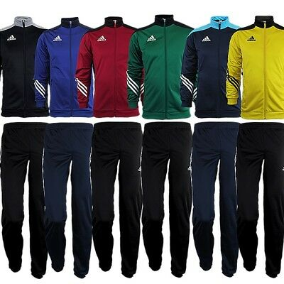 Adidas Sereno 14 kid's boy's tracksuit jogging training 6 colors ZIP pockets NEW | eBay