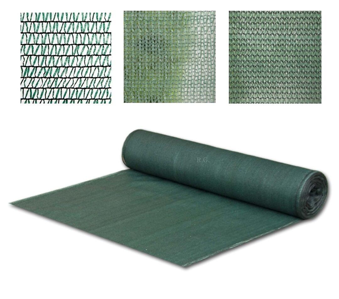 3x80 Meter 38g//m2 Schattiernetz 40/% Schattiergewebe Sonnenschutz Zaunblende