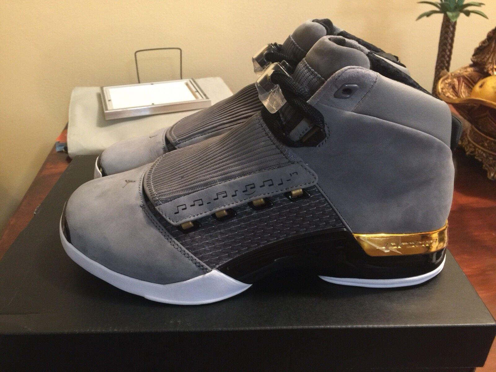 Nike air jordan retrò 17 xvii la stanza dei trofei di esclusiva sz limitata venduti di nuovo