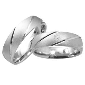 Modeschmuck Gravur Hochzeitsschmuck 2 Trauringe Eheringe Verlobungsringe Freundschaftsringe Silber 925 Inkl