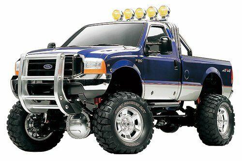 TAMIYA RC Coche Ford F-350 alta elevación Pick Up Camión 1 10 Kit de montaje