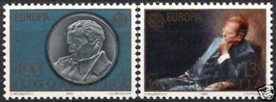 Cept 1980 Postfrisch Verhindern Den Teint Zu Erhalten Jugoslawien Nr.1828/29 ** Europa Dass Haare Vergrau Werden Und Helfen