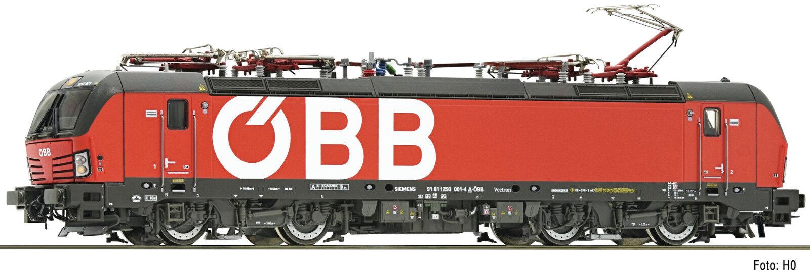 Fleischmann N 735 Locomotora Eléctrica Vectron 1293 ÖBB Ep Vi Nuevo Emb.